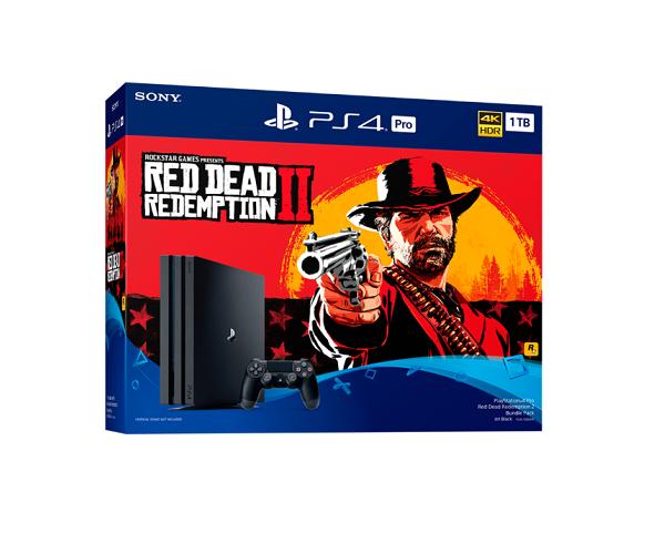 PlayStation 4 Pro Red Dead Redemption 2 Bundle Pack